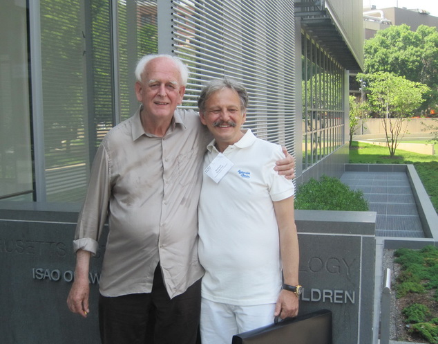 Andreas Sarakinos and Dieter Jung ISDH2012